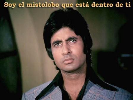 En la foto de hoy Amitabh Bachchan -