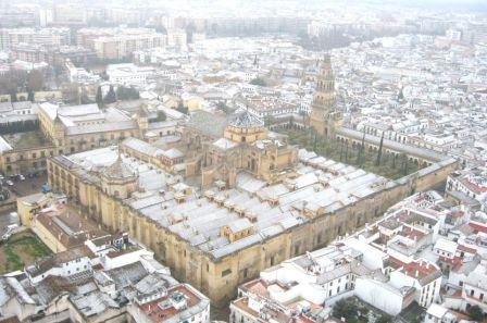 Nevó sobre la Mezquita