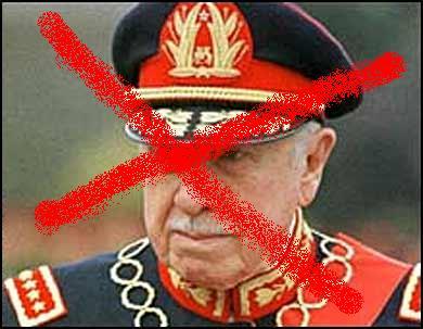 Por fin la cascó Pinochet