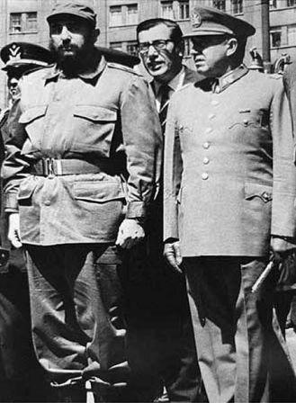 Son sólo fotos - Castro y Pinochet